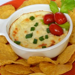 Quick and Easy White Cheese Dip Recipe - Whip up a batch of white cheese dip that is quick and easy to prepare for potlucks or an appetizer before dinner.