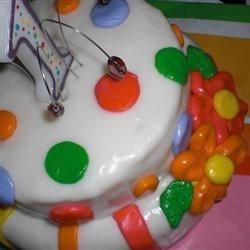 Daughters 1st Birthday cake