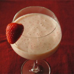 Groovie Smoothie Recipe - Strawberries and bananas are blended with yogurt and milk in this easy and delicious smoothie.
