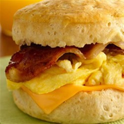 Grandwich Breakfast Sandwiches Recipe - Start your day off right with these breakfast sandwiches!