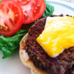 Lentil Burgers Recipe - Based on a recipe using butter beans, these patties are made with lentils and pan-fried for a great vegetarian burger option.