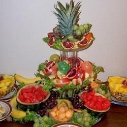 Easter Fruit Tower