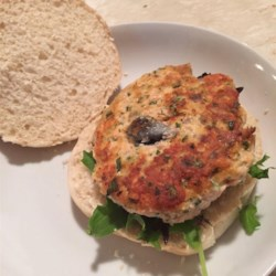 Lemony Salmon Burgers Recipe - Pan-fried salmon patties make a weeknight burger dinner simple and delicious.