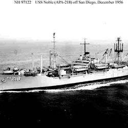 USS Noble APA 218