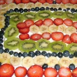 Diana's Delicious Fruit Pizza