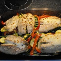 Honey Lime Tilapia