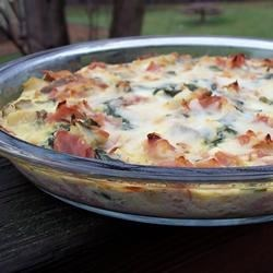 Ham and Veggie Quiche