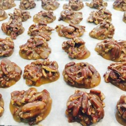 Texas Pralines Recipe - Delicious chewy pecan pralines we make every year for Christmas!