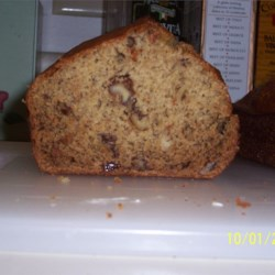 Inside of Granny's Banana Bread