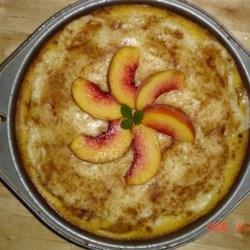 Peach Cream Pie