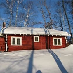 Back of our cabin