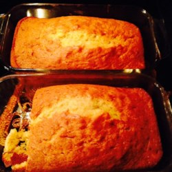 Quick Banana Nut Bread Recipe - Banana nut bread is simplified by using yellow cake mix and vanilla instant pudding.