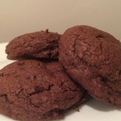 Chocolate Duet Cookies Recipe - This copycat recipe of the chocolate duet cookies sold by Panera Bread(R) packs them with walnuts, white chocolate chips, and semisweet chocolate chips.