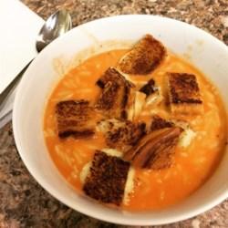 Cream of Tomato Soup with Pesto Photos - Allrecipes.com