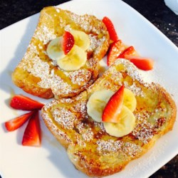 Fluffy French Toast Recipe and Video - This French toast recipe is different because it uses flour.  I have given it to some friends and they've all liked it better than the French toast they usually make!