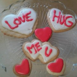 Sugar Cookies VI Recipe - I am Galia from Israel and I am sending you a recipe for the best sugar cookies that everyone loves!   They're best if you make them with cookie cutters with different shapes (animals, people... etc.) Good luck!