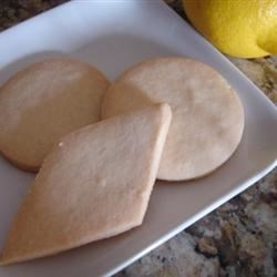 Shortbread Cookies IV Recipe - These cookies use rice flour for a different twist on the traditional shortbread cookie.