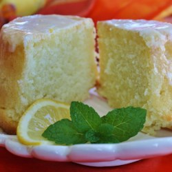 Lemon-Buttermilk Pound Cake with Aunt Evelyn's Lemon Glaze Recipe - This prize-winning recipe for lemon-buttermilk pound cake with a lemon glaze is a guaranteed crowd-pleaser.
