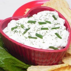 Leek and Onion Vegetable Dip Recipe - This simple tasty dip is made elegant with the subtle flavor of leeks. Serve it with your favorite raw vegetables.
