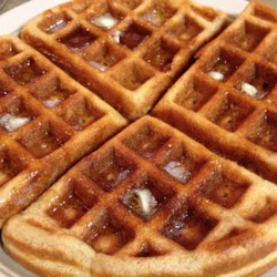 Gluten Free Waffles!! Recipe - Sorghum flour, tapioca starch, xanthan gum, and baking powder stand in for baking mix or all-purpose flour in this waffle recipe.