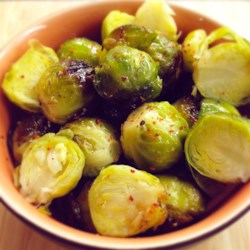 Easy Marinated Brussels Sprouts Recipe - Three ingredients are all you need to prepare marinated Brussels sprouts. Serve as a side dish or salad topper.