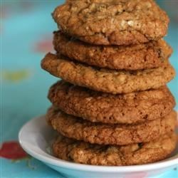 Oatmeal Raisin Cookies IV Recipe - These are the best oatmeal cookies. The secret is in the soaking of the raisins!