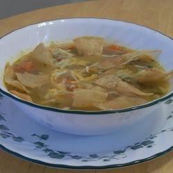 Sopa de Lima (Lemon Soup)