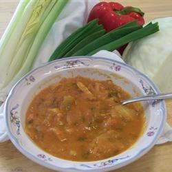 Tomato and Sweet Potato Soup
