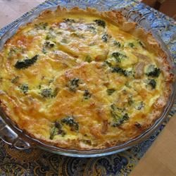 Broccoli Quiche with Mashed Potato Crust Photos ...