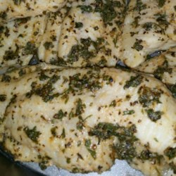 Herb Baked Catfish Recipe - Catfish fillets are coated with a tasty blend of herbs, and a simple lemon butter sauce is drizzled atop.