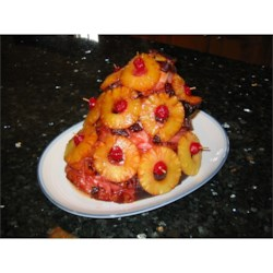 Rita's Sweet Holiday Baked Ham Recipe - This is my mom's holiday ham recipe. She would cook this easy recipe on my birthday. Made with maraschino cherries, sliced pineapples, brown sugar, honey and much more yummy ingredients. You'll love this ham dinner, and it's not just for the holidays, but great any time of year!