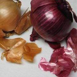 Step 1...Remove the dry, outer layers of the onions