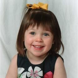 Miss Avery Belle Easter 2009