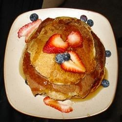 Old Fashioned Pancakes with Wheat Flour