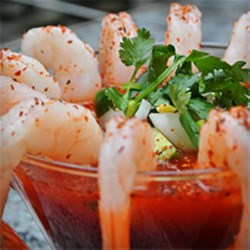 Clamato(R) Shrimp Cocktail Recipe - Taste this savory Shrimp Cocktail made with Clamato(R).