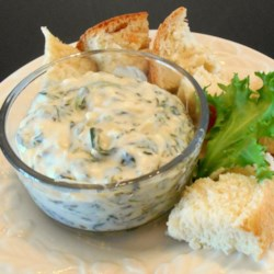 Artichoke & Spinach Dip Restaurant Style Recipe - Alfredo sauce brings a rich, creamy twist to an old favorite. Serve this hot dip with bread sticks, chips or crackers.