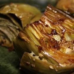 Garlic Sauteed Artichokes
