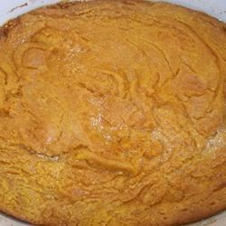 Pumpkin Casserole Recipe - This is super easy, something different and tastes great with the main course. Enjoy!
