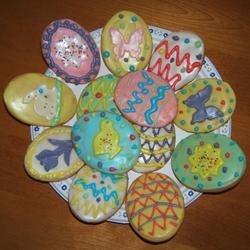 My Yummy Easter Sugar Cookies!