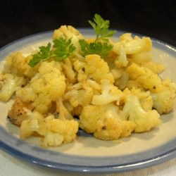Roasted Cajun Cauliflower Recipe - Roasted cajun cauliflower is soft on the inside and caramelized on the outside for a quick and easy side dish.