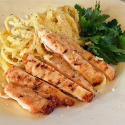 Chicken Lemon Linguine Recipe - Lemon and chicken linguine in a buttery sauce is a delicious way to use leftover chicken for weeknight meals.