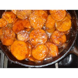 Southern Candied Sweet Potatoes Recipe and Video - Traditional sweet potato recipe. It is usually served as a side dish.