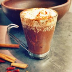 Rich Spiced Hot Chocolate Recipe - Warm up after Christmas caroling with this delicious, rich, homemade spiced hot chocolate!