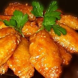 Vietnamese Golden Chicken Wings Recipe - Give oven-roasted chicken wings authentic Vietnamese flavor with a tasty marinade of garlic, lemon juice, soy sauce, sesame oil, and fish sauce.