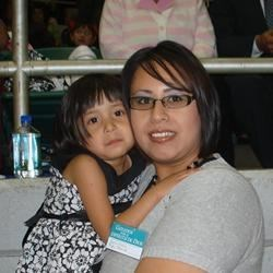 My daughter and I at our district assembly