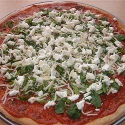 Basil Goat Cheese Pizza Recipe - Allrecipes.com