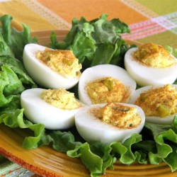 Simply Good Eggs Recipe - A simple deviled egg recipe is always good to have on hand when you host a party.