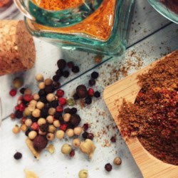 Hawaij/All-Purpose Seasoning Recipe - Hawaij, a spice blend made with sumac, black pepper, cumin, and turmeric, works nicely as a rub for chicken or seasoning for rice, pork, or veggies.