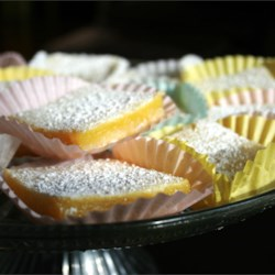 Bake Sale Lemon Bars Recipe - They are very, very easy to make, and really fabulously delicious.