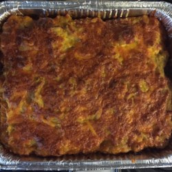 Pastelon de Platano Maduro (Dominican-Style Yellow Plantain Pie) Recipe - Take your taste buds on an adventure with this recipe for Pastelon de platano maduro, Dominican-style yellow plantain pie.